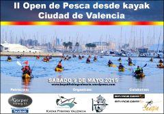 II Open de Pesca desde Kayak Ciudad de Valencia