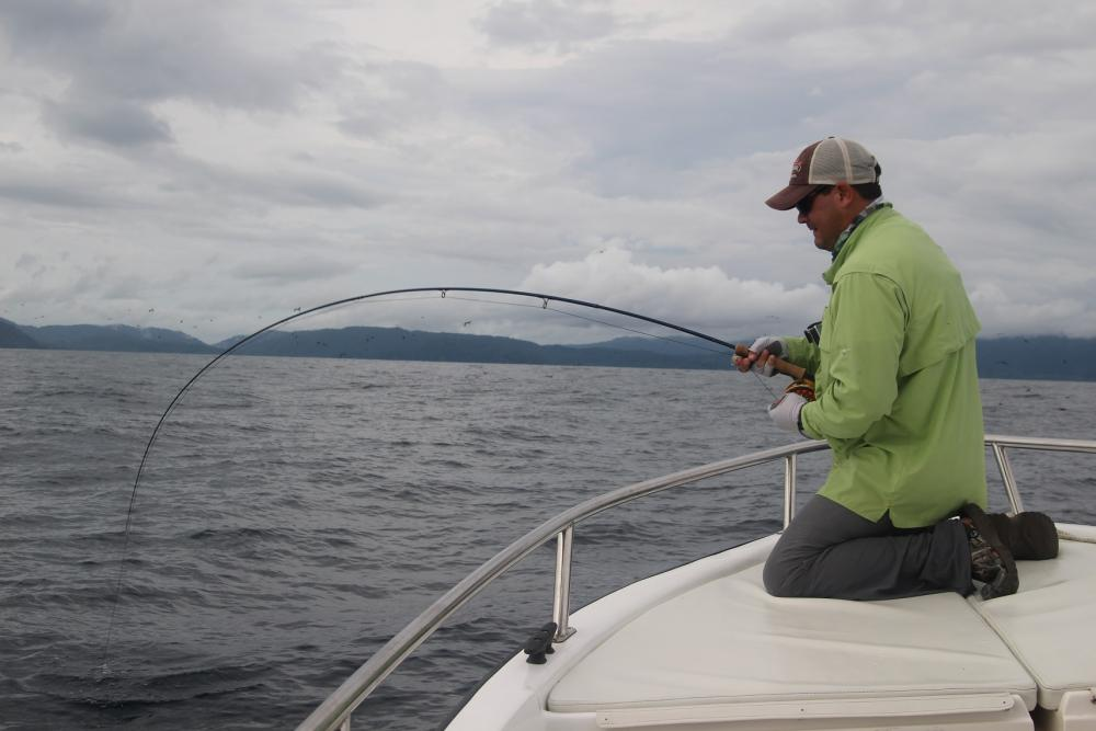 Colombia BD fighting a fish on fly.JPG