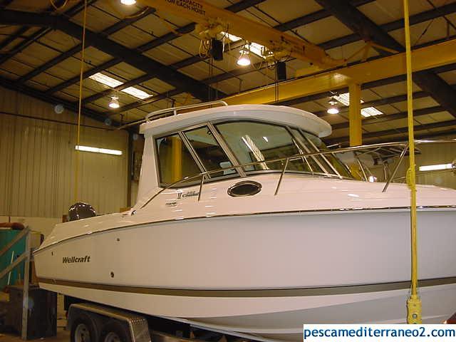 252 Coastal Enclosed Hardtop stbd profile