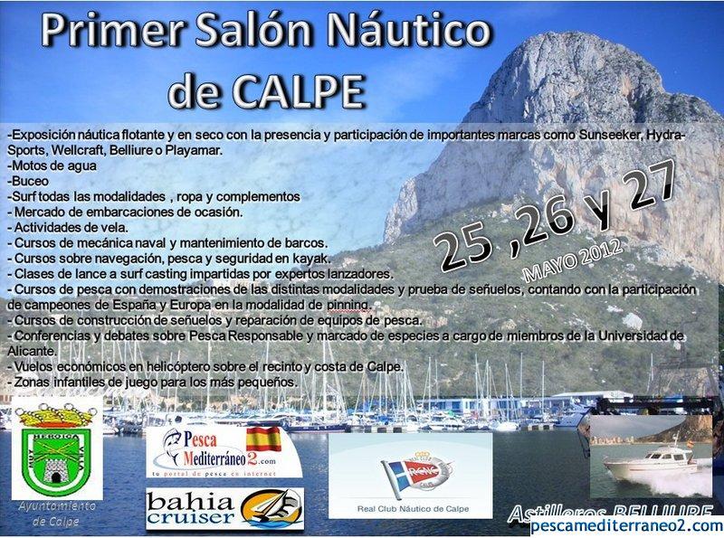 Cartel 1er Salon Nautico de Calpe