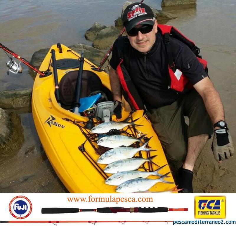 Caña Tica Kayak buenas capturas pesca