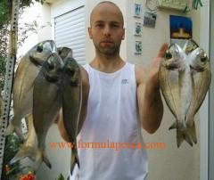 Pesca de doradas en Costa Brava Girona
